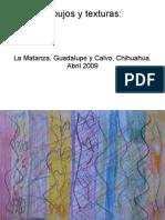 Dibujos y Texturas de niñas y niños ráramuris y tepehuanos, La Matanza, Guadalupe y Calvo, Chihuahua