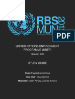 Study Guide - UNEP