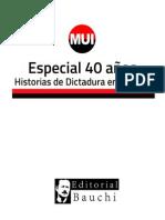 Boletín Especial 40 años