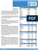 Special Report 13 Sep 2013 by Epic Research