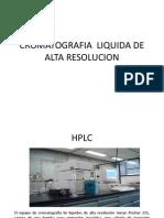 Cromatografia Liquida de Alta Resolucion