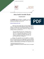Adam Smith & Invisible Hand