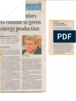 Harper and renewable fuel production