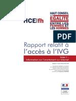 Rapport IVG