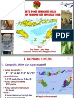 Perspektif Bonus Demografi dalam Pembangunan Propinsi Nusa Tenggara Timur