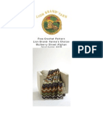 Ripple Knit Afghan