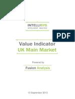 value indicator - uk main market 20130913