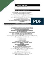 Lecturas - Roque Dalton - Taller i
