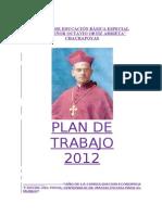 Plan de Trabajo 2012