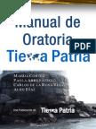 Manual de Oratoria Tierra Patria