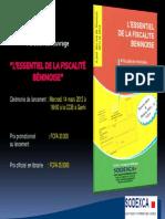 Presentation Du Livre-l'Essentiel de La Fiscalite Beninoise-VF