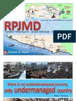 Sekelumit Tttg RPJMD Menurut Permendagri 54 Thn 2010