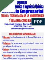GERENCIA EMPRESARIAL - CLASE Nº 03