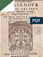Quechua General (1586)