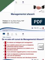 1.Prezentare Managementul Afacerii