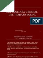 6. METODOLOGÍA GRAL DEL T.S.
