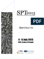 spt2013 abstracts agerner panel 12 238