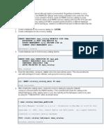 RMAN Recovery Catalog (11g)