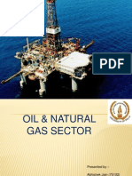 analysis oil and gas sector