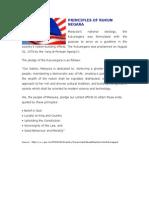 Principles of Rukun Negara Bi