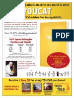 YOUCAT Flyer Promotion 2012