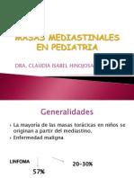 Masas Mediastinales en Pediatria
