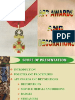 AFP AWARDS AND DECORATIONS.ppt