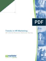 HRmarketer Supplier 2008-2009 Marketing Report Final