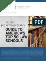 BCG Law School Guide 2012
