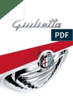 Giulietta 2012 Brochure