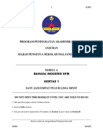 Trial Kedah English SPM 2013 K1