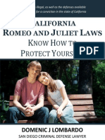 California Romeo and Juliet Laws