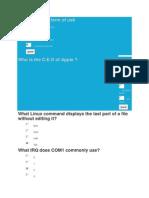 Comp Quiz
