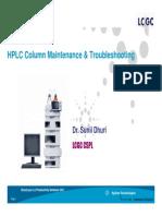 HPLC Troubleshooting