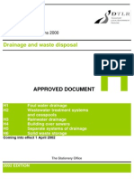Approved Document H - Drainage and Waste Disposal (PDF)