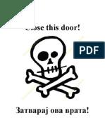 zatvaraj vrata