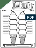 Icecream Social
