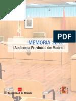 Memoria APM 2012