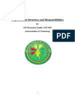 Organization Stucture and Responsibilities for AIT-MF
