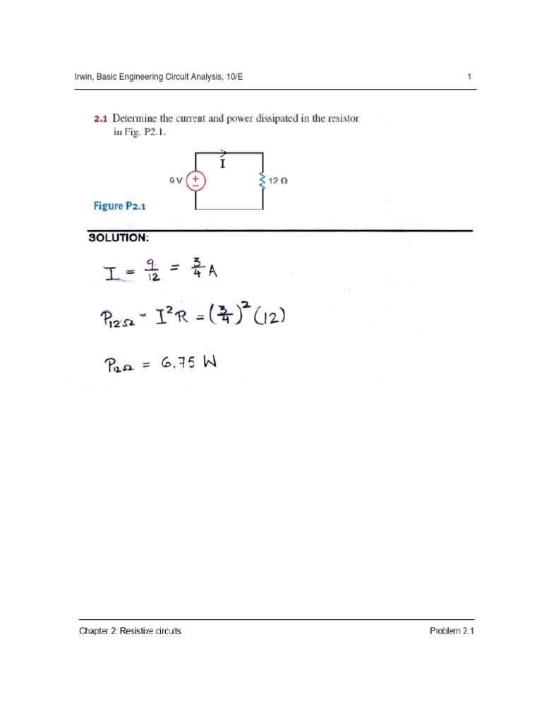 Engineering Circuit Analysis 8th Edition Solution Manual Pdf