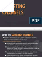 Topic 12 - Marketing Channels Without Supply Chain