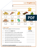 Stories the Greedy Hippo Worksheet Final 2012-11-01