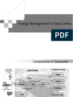 Energy management in data centre