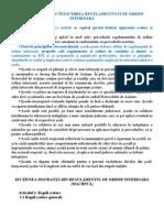 Indrumar Pentru_ Regulament Ordine Interioara_ Bucuresti