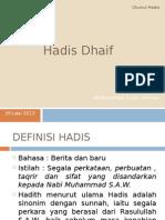 Hadith Dhaif.pptx