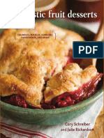 Recipes from Rustic Fruit Desserts by Cory Schreiber and Julie Richardson
