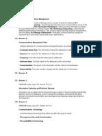 Chapter 8 Communication Management_Answers