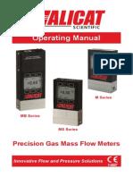 Gas Flow Meter Manual