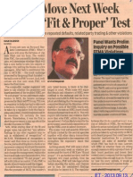 ET - FMC to Move Next Week on MCX 'Fit Test 2013 09 13