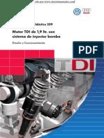 Inyector Bomba TDI209